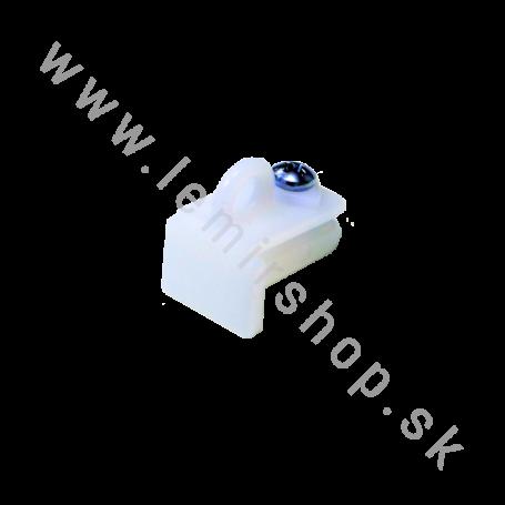 Koncovka Giada biela 10 mm